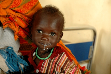 Battle against malnutrition Action Against Hunger