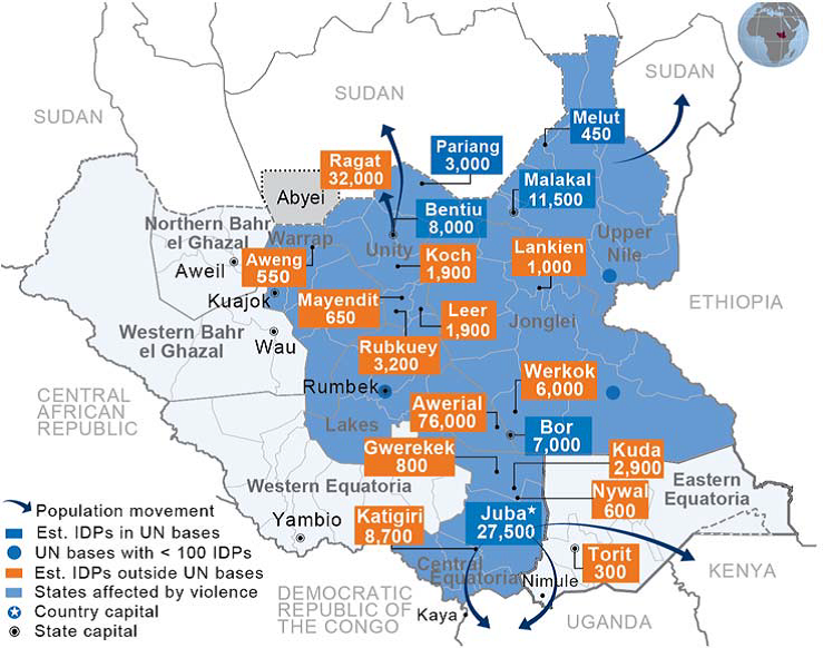 poverty and hunger in south sudan