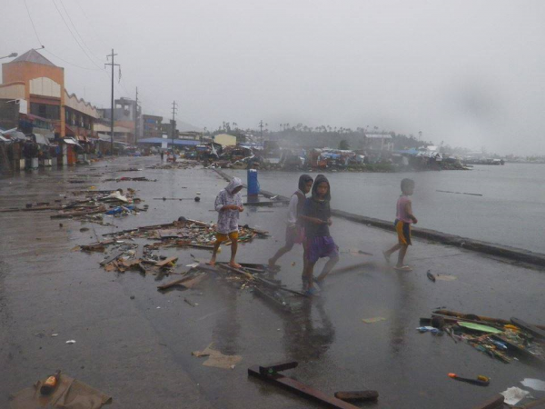 Typhoon Hagupit Action Against Hunger