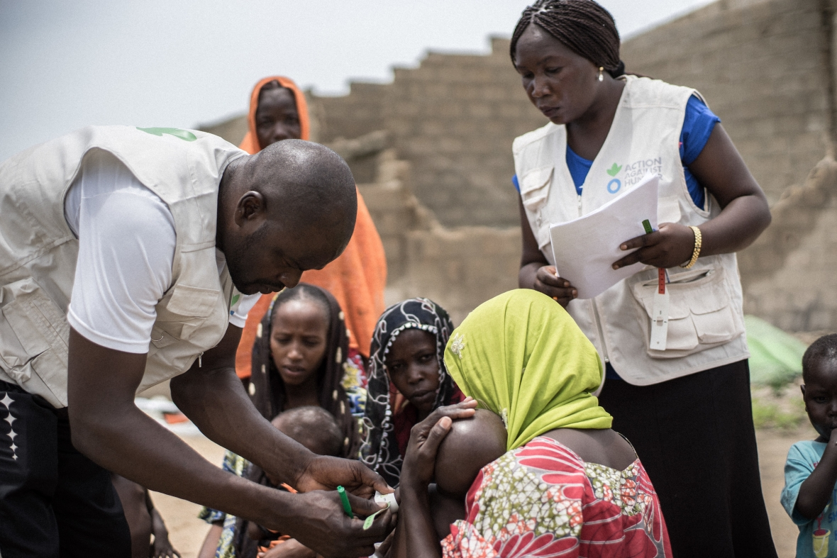 Action Against Hunger in azione in Africa
