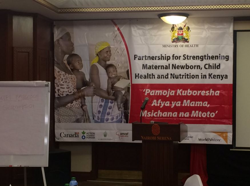 Partnership for maternal newborn child health and nutrition the kenyan ministry of health together with aga khan foundation amref hellen keller map international micronutrient initiative world vision and gumiabroncs Choice Image
