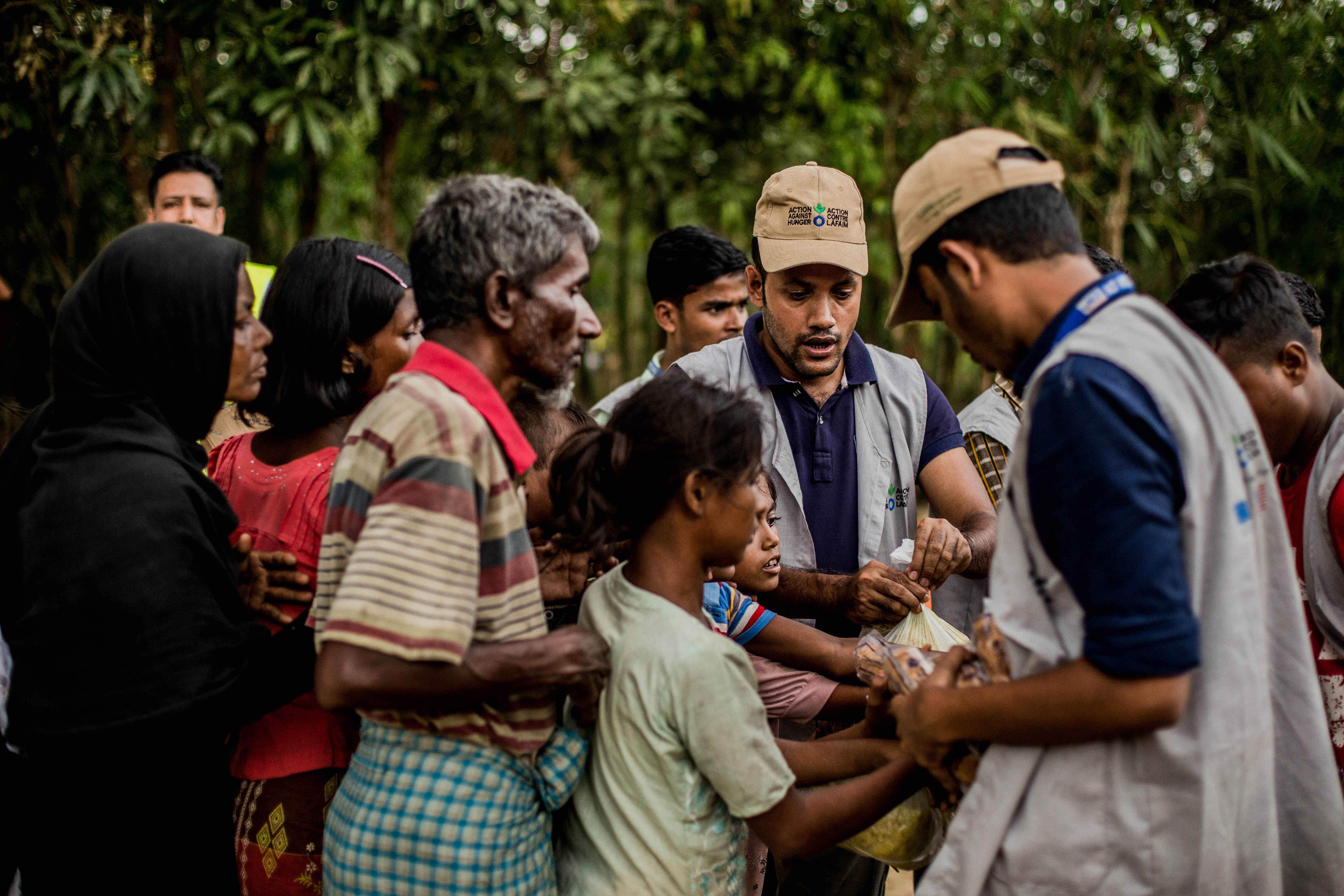 Rohingya in Bangladesh Action Against Hunger