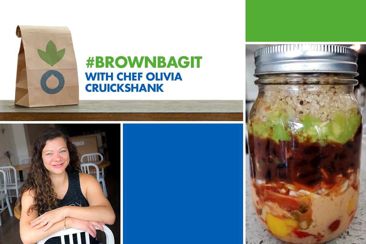#brownbagit with Chef Olivia Cruickshank