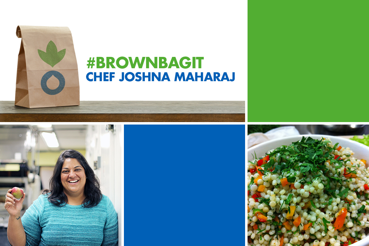 #brownbagit with Chef Joshna Maharaj