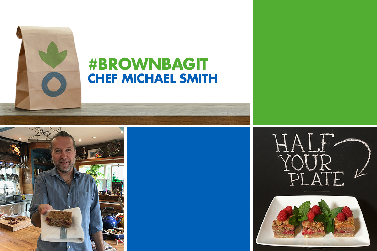 #brownbagit with Chef Michael Smith