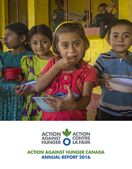 2016 Annual Report and Financials Action Against Hunger