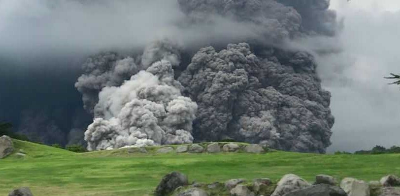 Volcanic Eruption Action Against Hunger