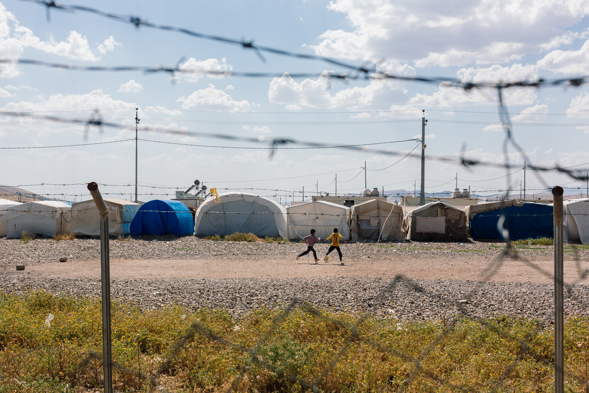 Refugee Camp and Mental Health Care Action Against Hunger
