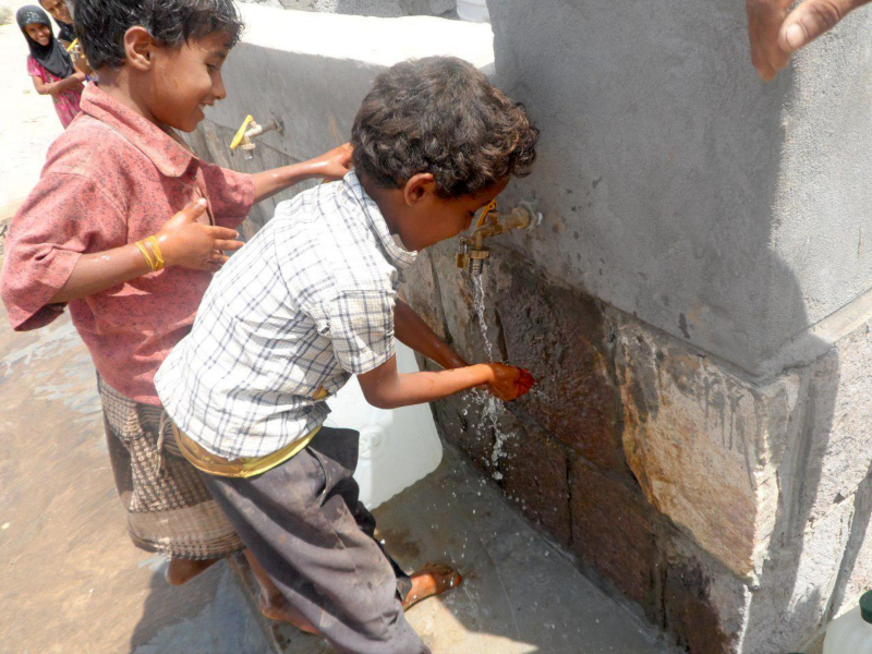 Clean Water And Better Health In Yemen Action Against Hunger