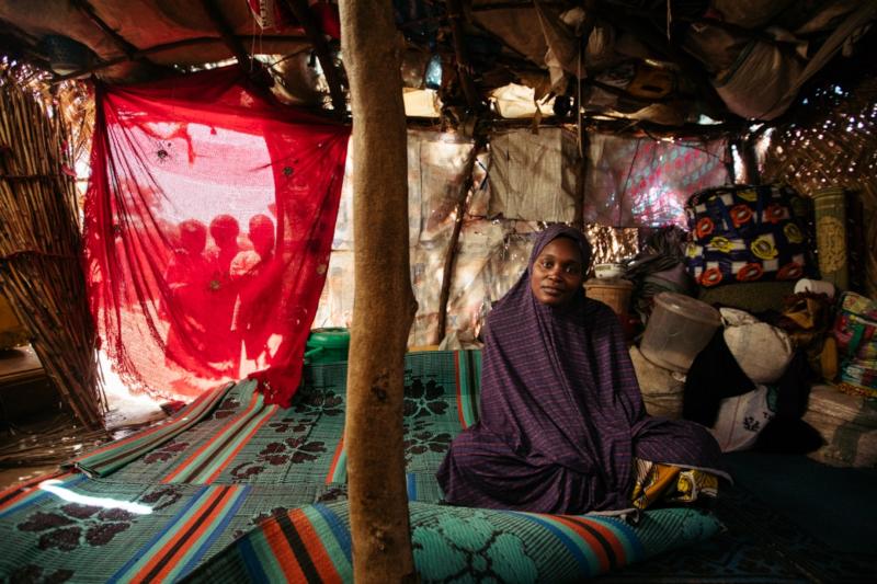 Kolom, part of the cash program - Action Against Hunger