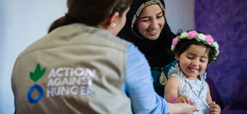 Displaced Moms Refugees Iraq - Action Against Hunger