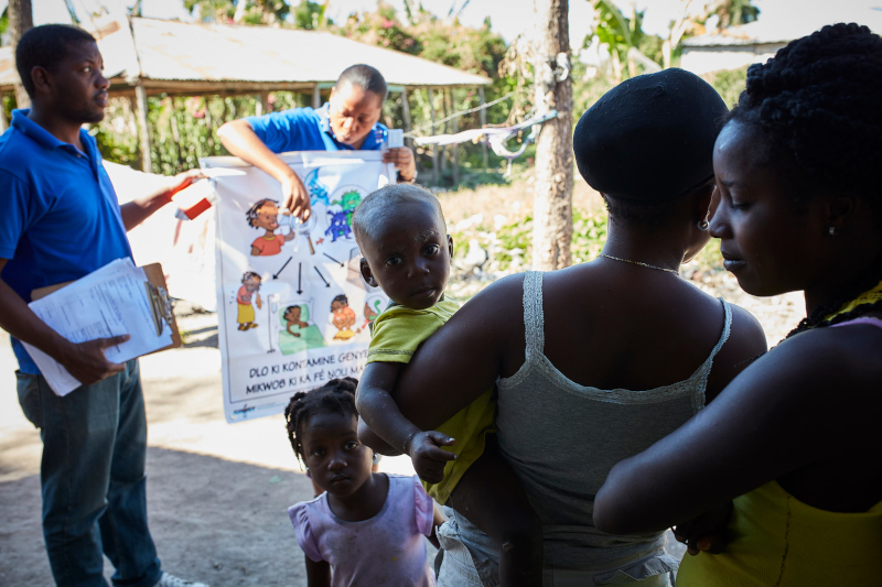 Haiti Cholera Prevention - Action Against Hunger