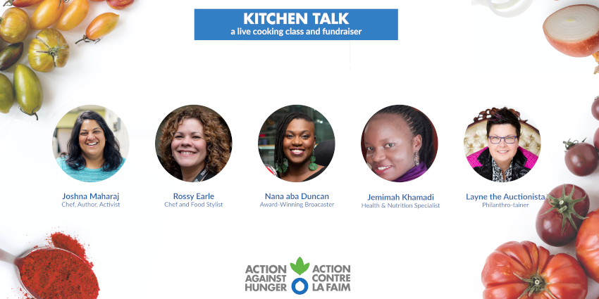 Kitchen Talk - Action Against Hunger