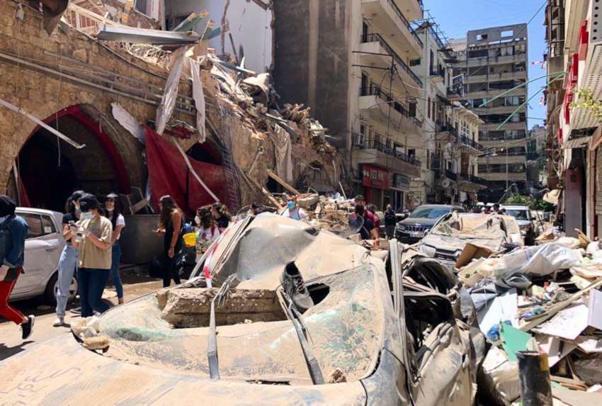 Beirut Explosion - Action Against Hunger