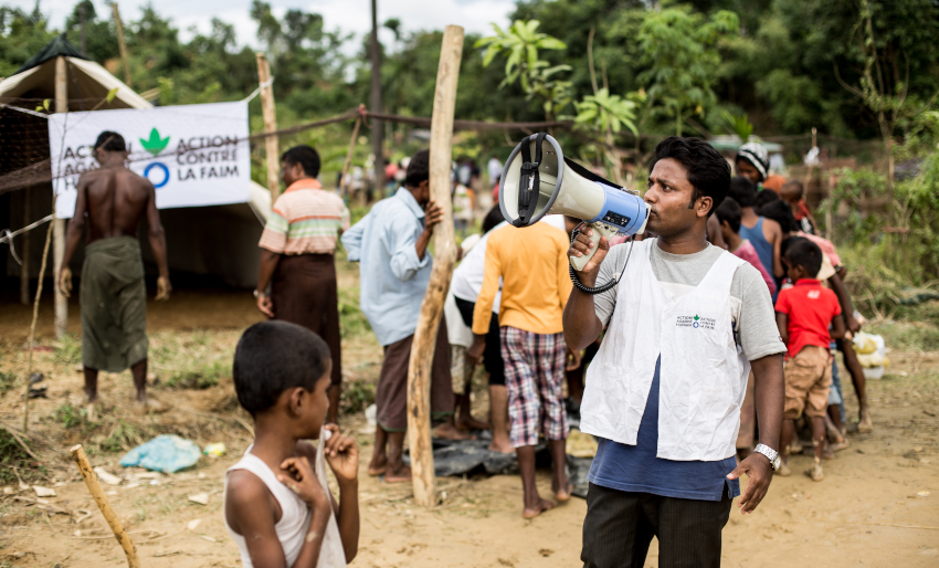 Rohingya crisis anniversary - Action Against Hunger