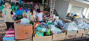 Supplies Taal Volcano Philippines - Action Against Hunger