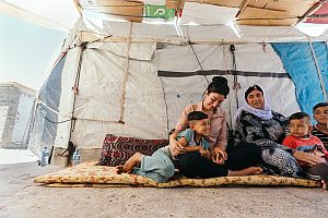 Displaced Moms Iraq - Action Against Hunger Canada