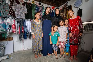 Displaced moms refugees Iraq - Action Against Hunger Canada