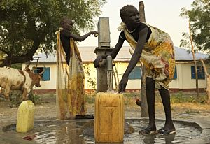 Borehole - Paguir - Action Against Hunger