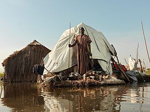 Flood waters South Sudan - Action Against Hunger